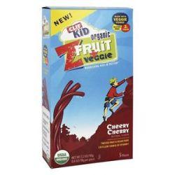 Clif Bar Kid Z Fruit Veggie Organic Cheery Cherry 5 Piece S