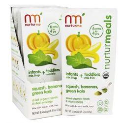 Nurturme Organic Dried Baby Food 6 Months Squash Bananas Green Kale 0 67