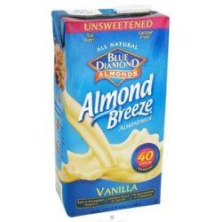 Blue Diamond Growers Almond Breeze Almond Milk Unsweetened Vanilla 0 5