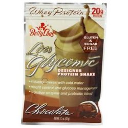 Betty Lou's Low Glycemic Designer Protein Shake Packet Chocolate 1 5 Oz