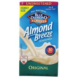 Blue Diamond Growers Almond Breeze Almond Milk Unsweetened Original 0 5