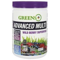 Greens Plus Advanced Multi Powder Wild Berry 9 4 oz formerly Wild Berry