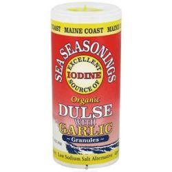 Maine Coast Sea Vegetables Sea Seasonings Organic Dulse with Garlic 1 5 Oz