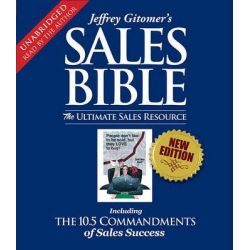 Jeffrey Gitomer's Sales Bible, The Ultimate Sales Resource Audio Book (Audio CD) by Jeffrey Gitomer, 9780743572668. Buy the audio book online.