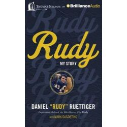 Rudy, My Story Audio Book (Audio CD) by Rudy Ruettiger, 9781480594784. Buy the audio book online.