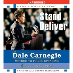 Stand and Deliver, Method to Public Speaking Audio Book (Audio CD) by Dale Carnegie, 9780743571036. Buy the audio book online.
