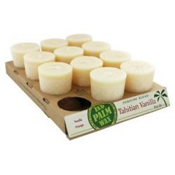 Aloha Bay Votive Candle Tahitian Vanilla 2 Oz