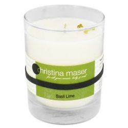 Christina Maser Natural Soy Wax Candle Basil Lime 10 Oz