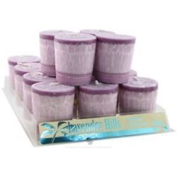 Aloha Bay Essential Oil Votive Candle Lavender Hills 2 Oz