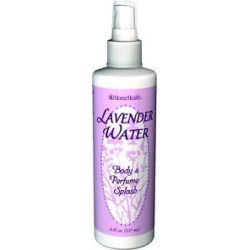 Home Health Lavender Water Body Perfume Splash 8 Oz