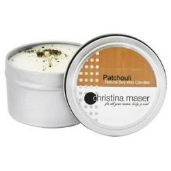 Christina Maser Natural Soy Wax Candle Patchouli 6 Oz