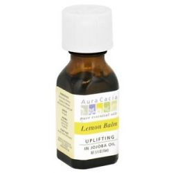 Aura Cacia Pure Essential Oils Uplifting Lemon Balm 0 5 Oz