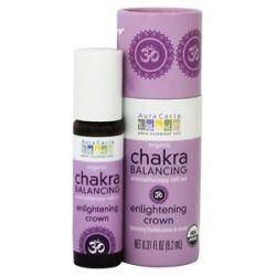 Aura Cacia Organic Chakra Balancing Aromatherapy Roll on Enlightening Crown