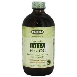 Flora DHA Flax Oil 8 5 Oz