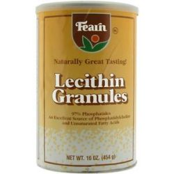 Fearn Lecithin Granules 16 Oz 041178400308