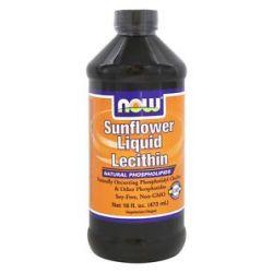 Now Foods Sunflower Liquid Lecithin 16 Oz