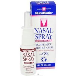Nutribiotic Nasal Spray with GSE 1 Oz