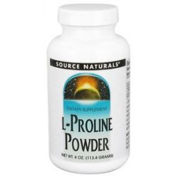 Source Naturals L Proline Powder 4 Oz