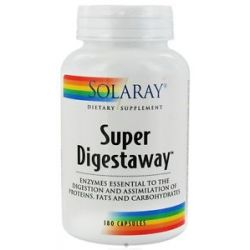 Solaray Super Digestaway 180 Capsules