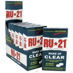 Spirit Sciences RU 21 Wake Up Clear 20 Tablets 833141000062