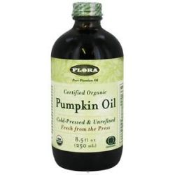 Flora Pumpkin Oil Certified Organic 8 5 Oz