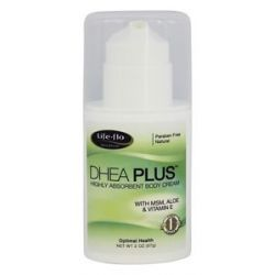 Life Flo DHEA Plus Highly Absorbent Body Cream 2 Oz