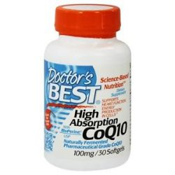Doctor's Best High Absorption CoQ10 100 MG 30 Softgels