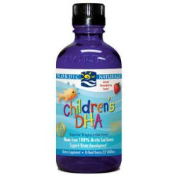 Nordic Naturals Children's DHA Liquid Strawberry 8 Oz