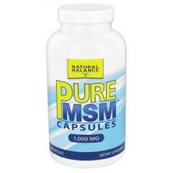 Natural Balance Pure MSM 1000 MG 240 Capsules formerly Trimedica 744665001346