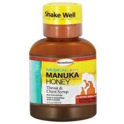 Manuka Guard Medical Grade Manuka Honey Throat Chest Syrup 3 4 Oz