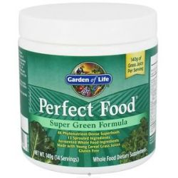 Garden of Life Perfect Food Super Green Formula Powder 4 94 Oz