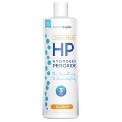 Essential Oxygen Hydrogen Peroxide Solution 3 Food Grade 16 Oz