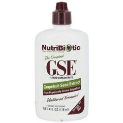 Nutribiotic GSE Grapefruit Seed Extract Liquid Concentrate 4 Oz