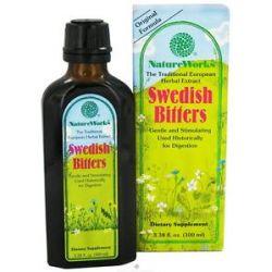 Natureworks Swedish Bitters Extract Original Formula 3 38 Oz 020065100033