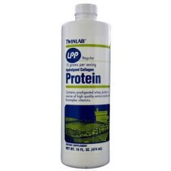 Twinlab LPP Regular Hydrolyzed Liquid Collagen Protein 16 Oz