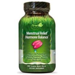 Irwin Naturals Menstrual Relief Hormone Balance 84 Liqui Caps