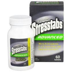 Stresstabs Advanced High Potency Stress Formula 60 Tablets