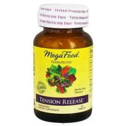 MegaFood Therapeutix Tension Release 30 Vegetarian Tablets
