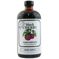 Natural Sources Black Cherry Concentrate Unsweetened 16 Oz