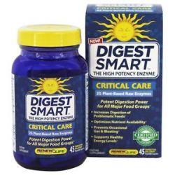 Renew Life Digestsmart Critical Care 45 Vegetarian Capsules