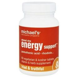 Michael's Naturopathic Programs Adrenal Xtra Energy Support 60 Vegetarian