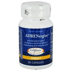 Enzymatic Therapy Adrenergize 50 Capsules formerly Adrenal Cortex Complex