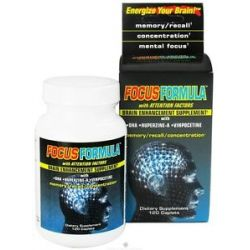 Windmill Health Products Focus Formula Brain Enhancement Supplement 120 035046068660