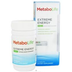 Metabolife Extreme Energy Stage 2 Weight Management Support 50 Tablets 027434031998