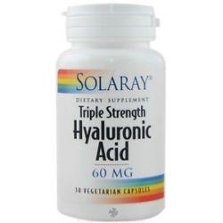 Solaray - Triple Strength Hyaluronic Acid 60 mg. - 30 Vegetarian Capsules