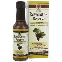 Nature's Answer Resveratrol Reserve Cellular Longevity Complex 5 Oz