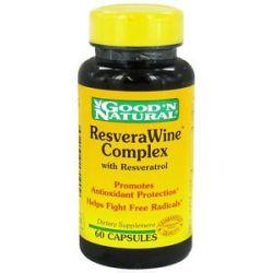Good 'N Natural Resverawine Complex Natural Source of Resveratrol 60