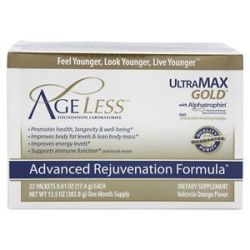 Ageless Foundation Ultramax Gold Advanced Rejuvenation Formula With