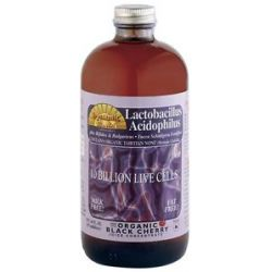 Dynamic Health Lactobacillus Acidophilus Liquid 10 Billion Live Cells Organic