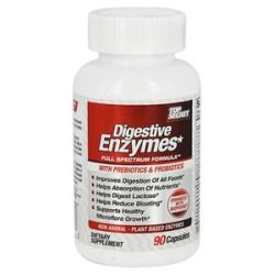 Top Secret Nutrition Digestive Enzymes Full Spectrum Formula with Prebiotics